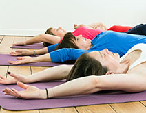 Deep Relaxation yoga class